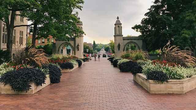 Sample Gates in Bloomington, Indiana